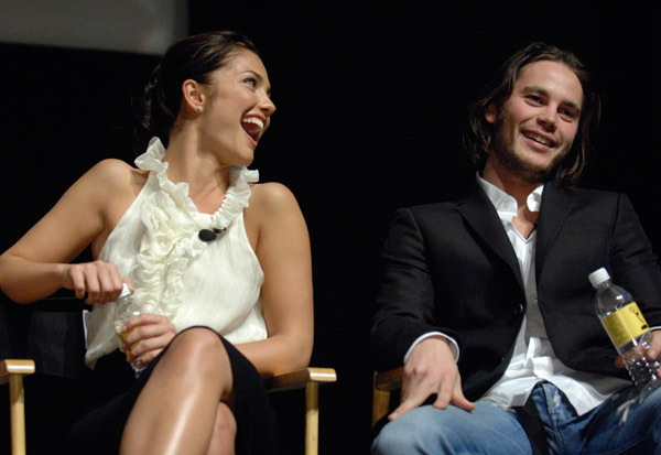 The gallery for --> Taylor Kitsch And Minka Kelly