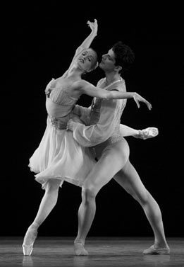 Ballet wallpaper entitled Tchaikovsky Pas de Deux - ABT