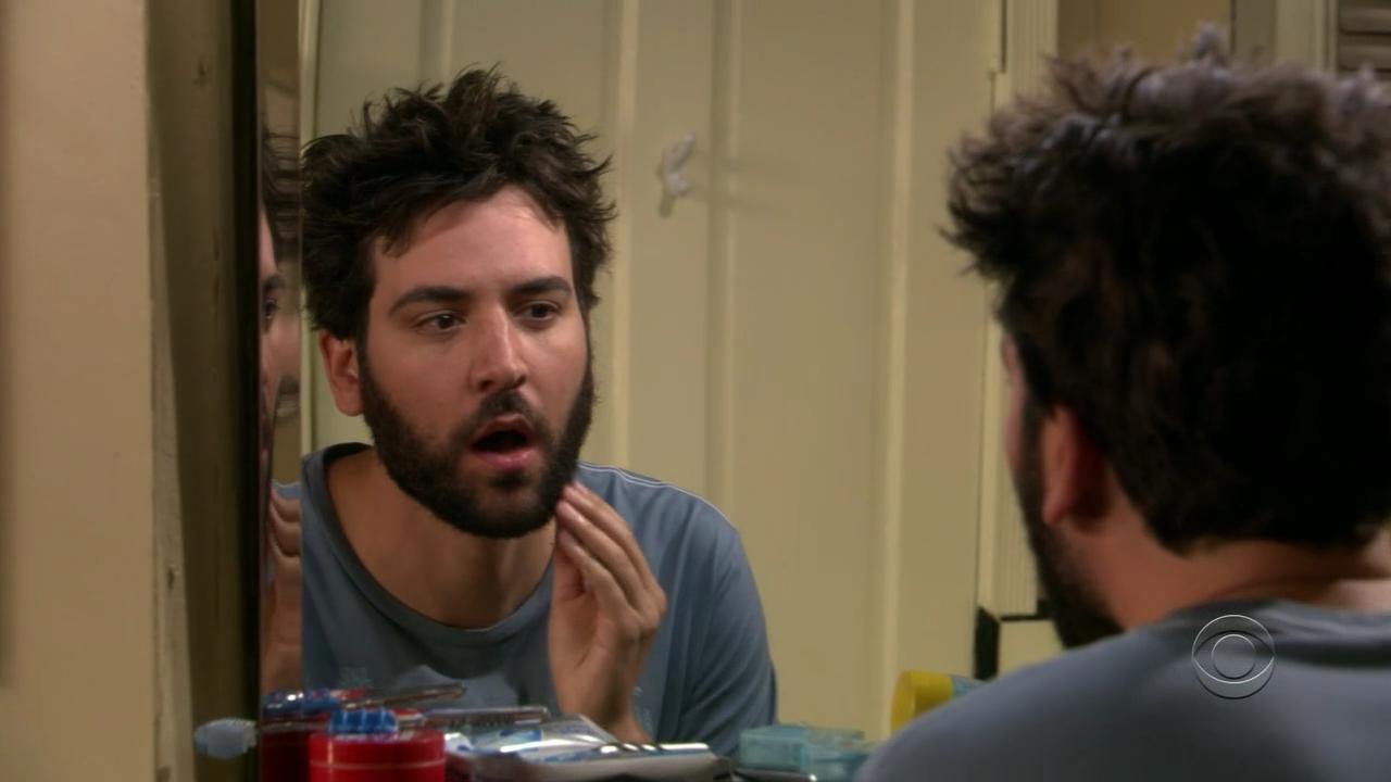 Ted's beard.