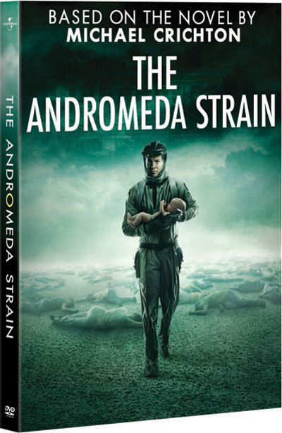 the andromeda strain The andromeda strain is a 1971 film based on a 1969 novel of the same name by michael crichton about a team of scientists to investigating the cause of a spaceborne.