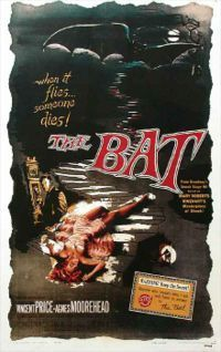 Vincent Price wallpaper called The Bat poster