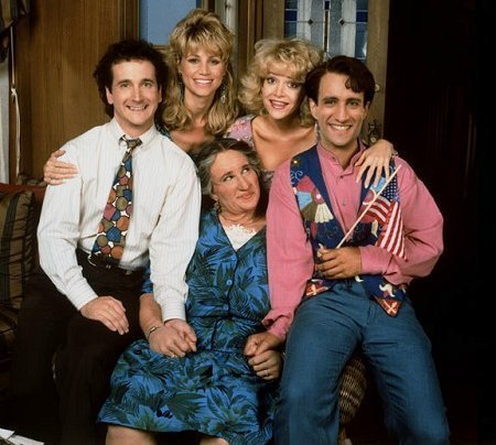 Perfect Strangers wallpaper titled The Cast