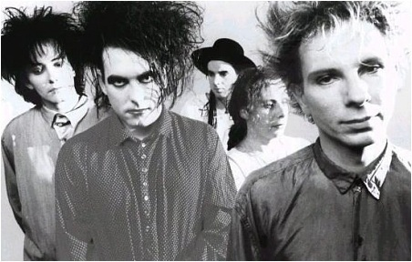 The 80s wallpaper entitled The Cure