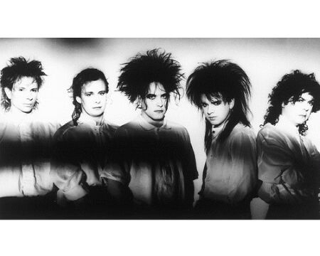 The 80s wallpaper containing a bearskin titled The Cure