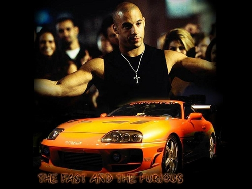 Vin Diesel fond d'écran titled The Fast & Furious