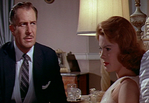 Vincent Price wallpaper with a business suit titled The Fly