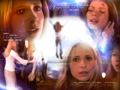 The Gift - Buffy and Dawn