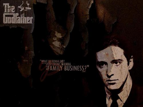 The Godfather Trilogy wallpaper with anime entitled The Godfather