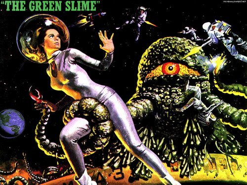Green slime movie poster
