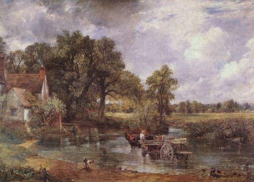 The heu, hay Wain - John Constable