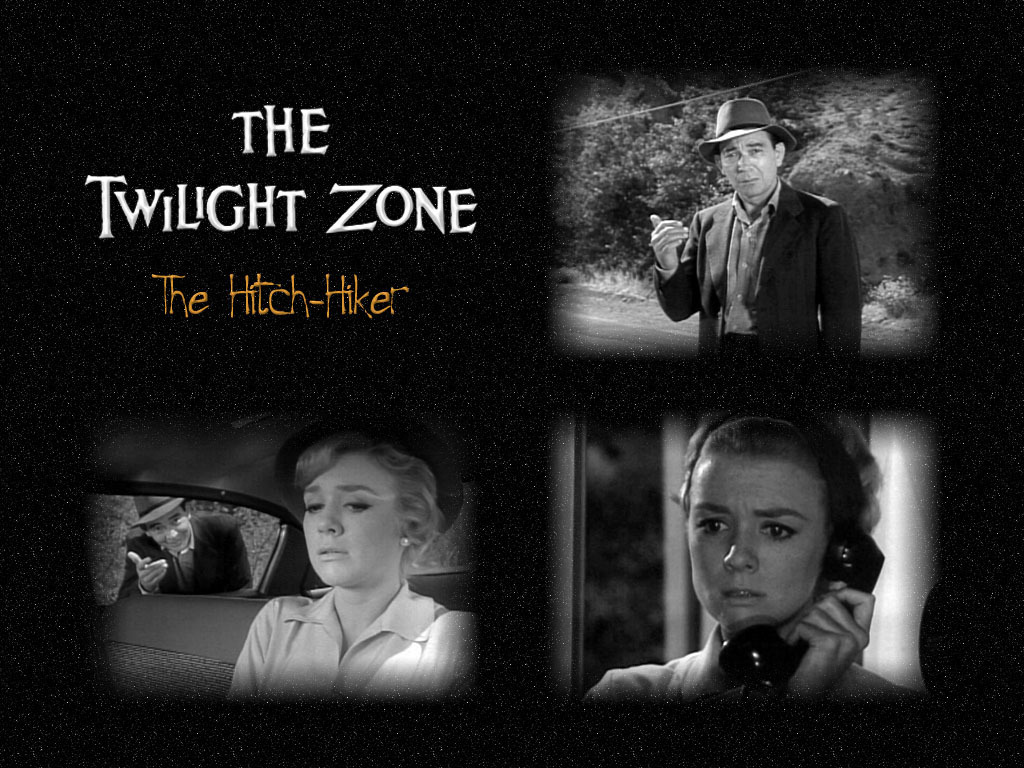 The Twilight Zone Wallpaper Titled Hitch Hiker