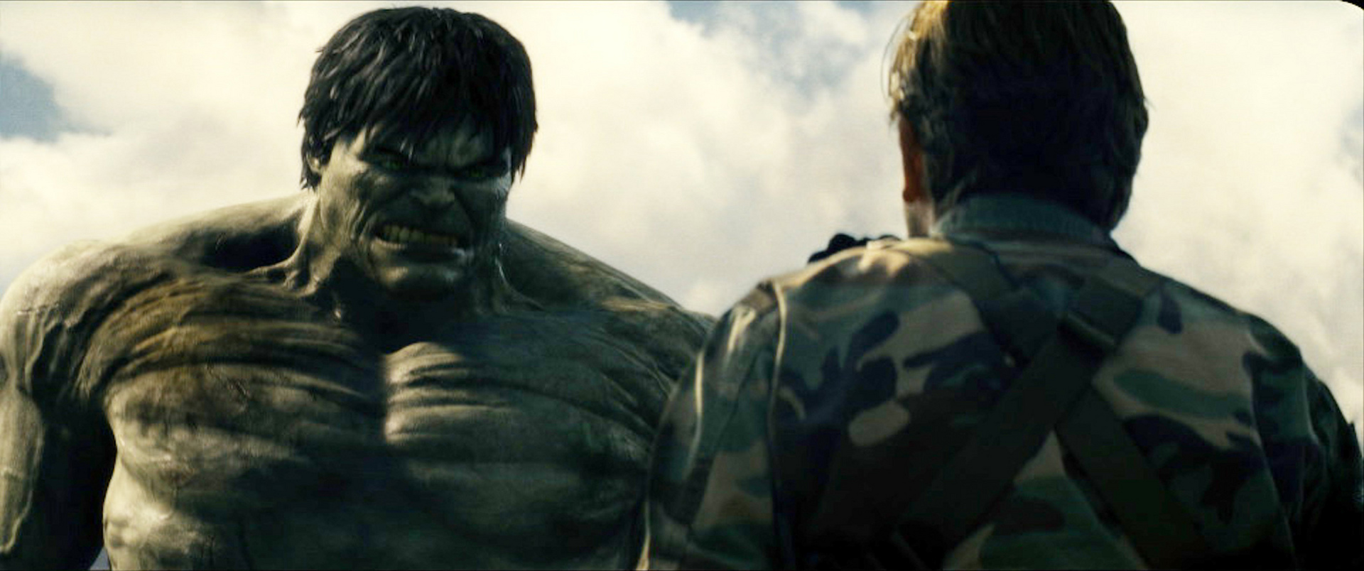 incredible hulk Marvel's incredible hulk has been smashing to his heart's content for over 55 years -- but when did he start eating people.