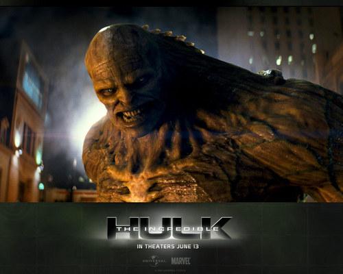 চলচ্চিত্র দেওয়ালপত্র possibly containing জীবন্ত titled The Incredible Hulk