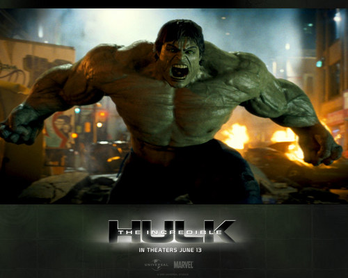 filmes wallpaper possibly containing animê entitled The Incredible Hulk
