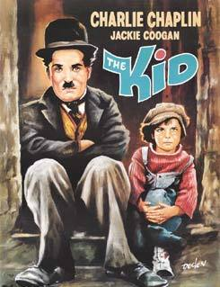 Charlie Chaplin karatasi la kupamba ukuta with anime entitled The Kid