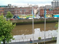 The Liffey from my hotel