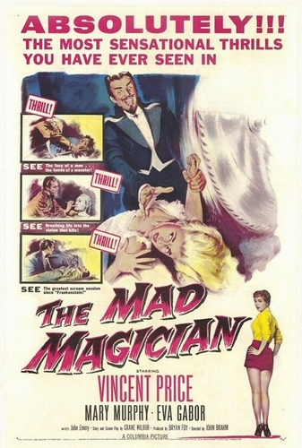 Vincent Price wallpaper containing anime titled The Mad Magician