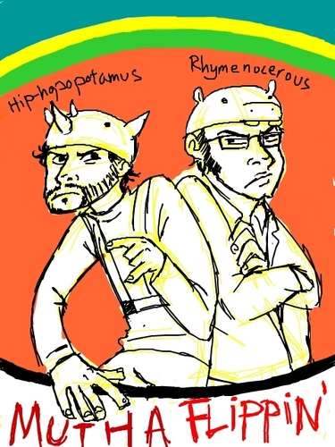 Flight of the Conchords wallpaper entitled The Motha Flippin'