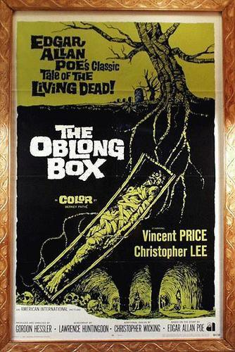 Vincent Price wallpaper titled The Oblong Box