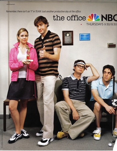 The Office Cast: Puma Ad - the-office Photo