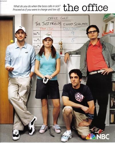 The Office Cast: Puma Ad