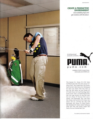 The Office Cast: Puma Ad