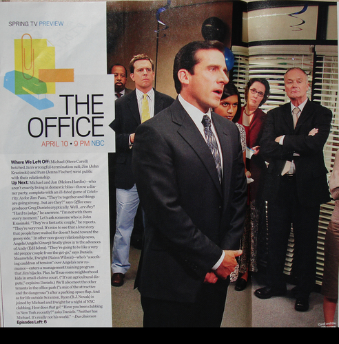 The Office EW Scan SPOILERS