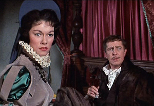 Vincent Price wallpaper probably with a business suit and a fur coat entitled The Pit and the Pendulum