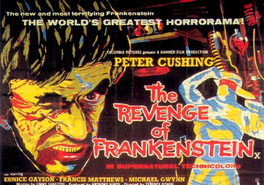revenge in frankenstein