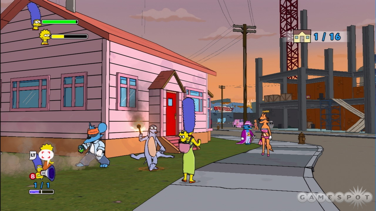 The Simpsons Game Images The Simpsons Game Screens Hd