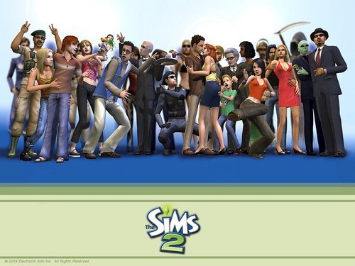 The Sims 2 wallpaper called The Sims 2