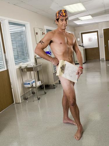 Dick Shemale Jordan from scrubs naked