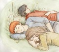 The Trio - harry-potters-women fan art