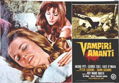 Hammer Horror Films wallpaper entitled The Vampire Lovers