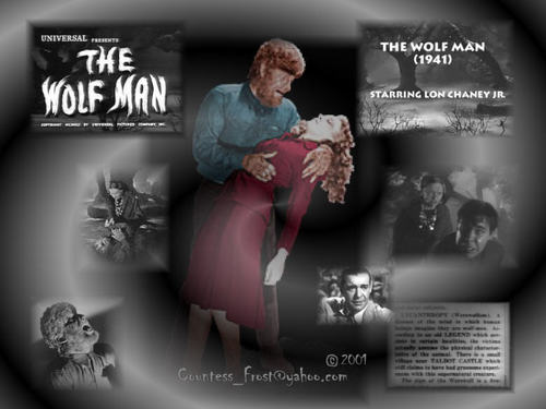 manusia serigala wallpaper possibly with anime entitled The Wolfman (1)