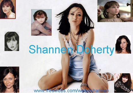 The beautiful Shannen Doherty