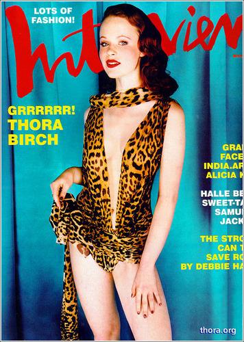 Thora in Interview Magazine