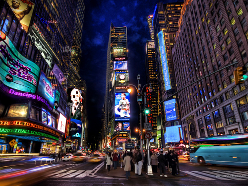 New York wallpaper entitled Times Square