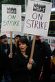 Tina Fey during the strike
