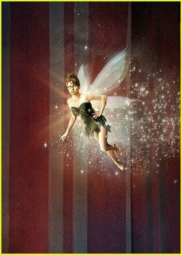 Tina Fey is Tinkerbell!