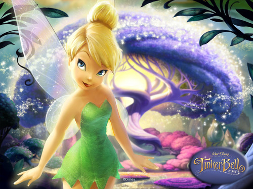 Tinkerbell پیپر وال titled TinkerBell