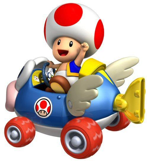 Mario kart images toad in mario kart wii wallpaper and for Mario go fish
