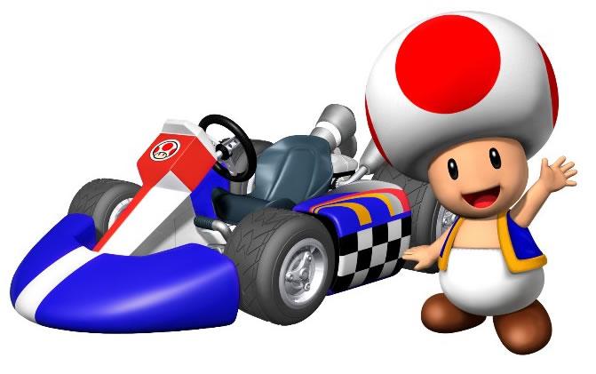 Mario Kart Wii Toad