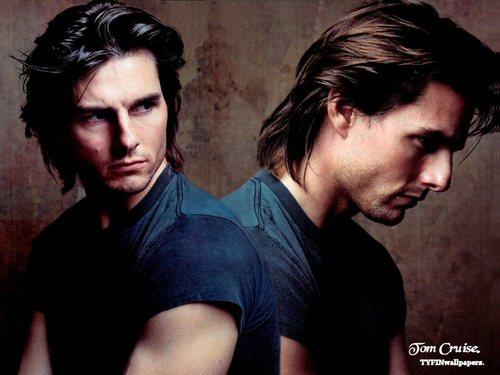 Tom Cruise achtergrond titled Tom