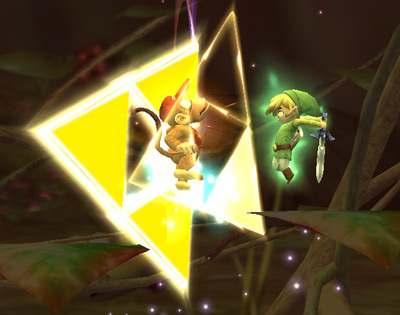 Triforce स्लैश (Toon Link)
