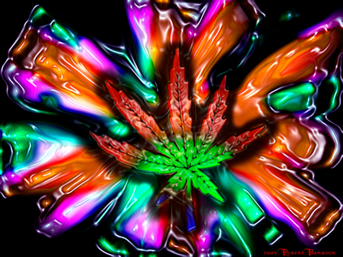 Trippy wallpapers - marijuana Wallpaper
