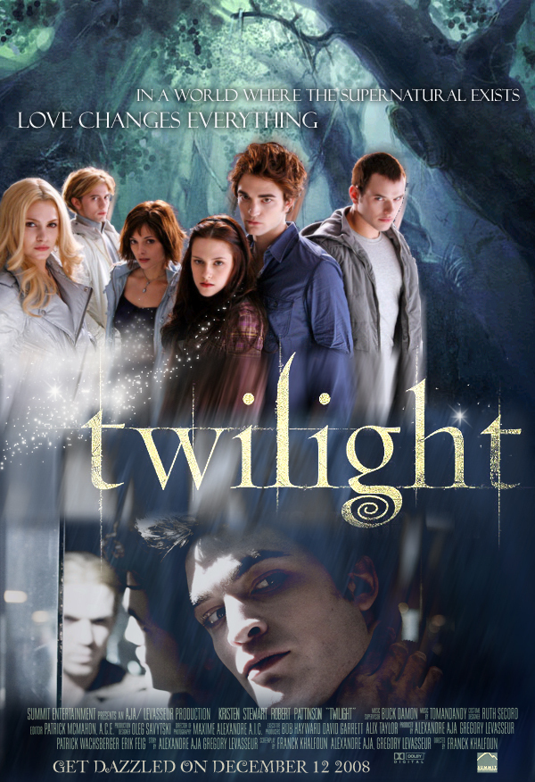 twilight movie poster twilight series fan art 1137930