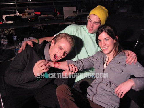 Twilight cast goofing off