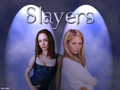 Two Slayers-Buffy & Faith