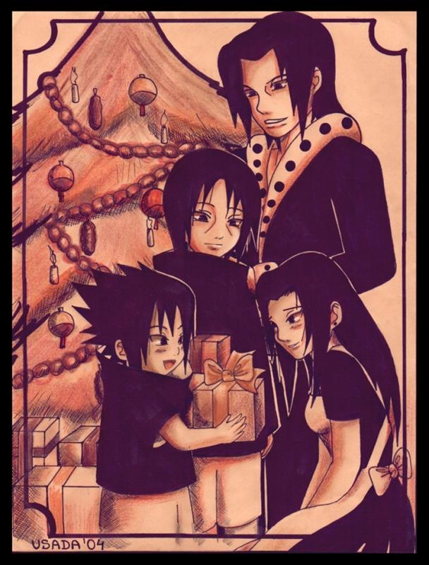 Uchiha Family Christmas